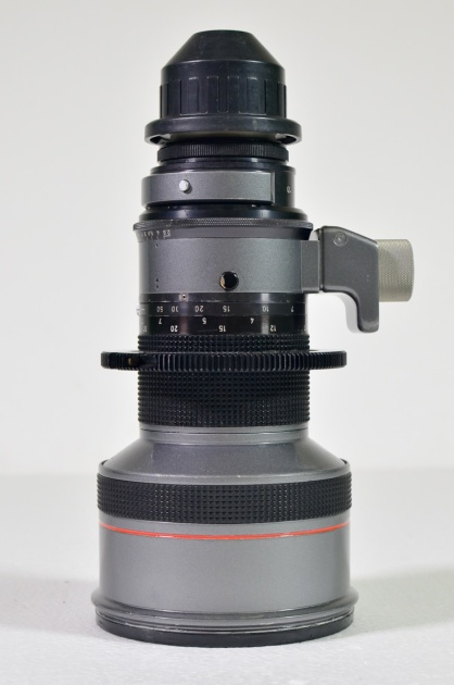 Optex 300mm Canon T2.8 lens with universal mount