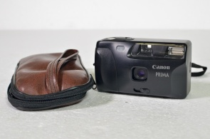 Canon Prima stills camera and case