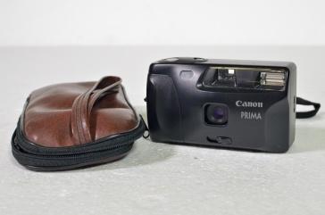 Canon Prima stills camera and case