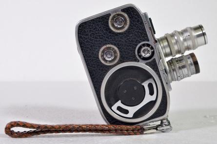 Paillard Bolex standard 8 with lenses